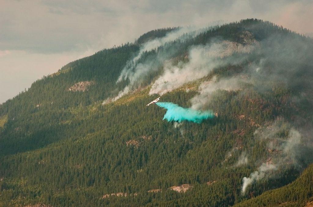 Hamill Creek Fire  August 3, 2007  (8:06 PM)
