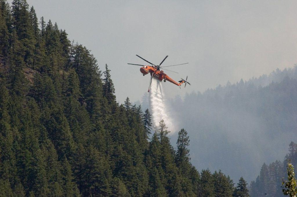 Hamill Creek Fire  July 31, 2007  (1:28 PM)