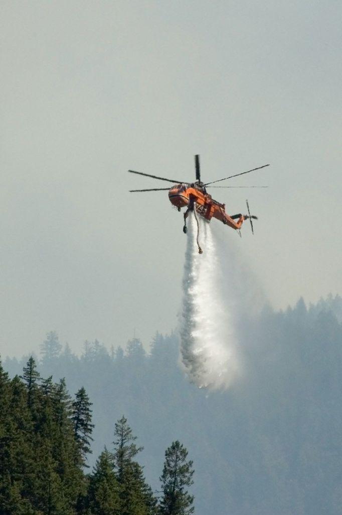 Hamill Creek Fire  July 31, 2007  (1:39 PM)